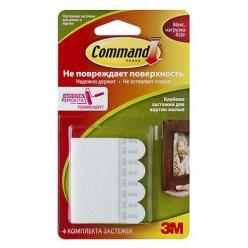 Легкоудаляемые сцепляемые клейкие застежки для рамок картин Command®, малые