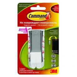 Легкоудаляемый металлический подвес для картин с системой крепления Command®, средний