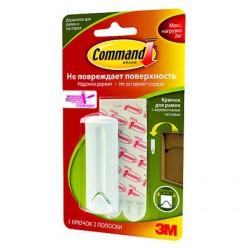 Легкоудаляемый крючок для рамок с веревочными петлями с системой крепления Command®