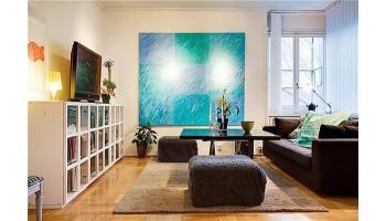 Совет №1: Как выбрать картину в гостиную. Делаем интерьер теплее и уютнее.
