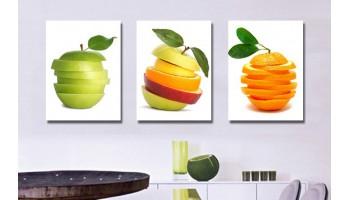 Совет №3: Как выбрать картину на кухню. Любуемся картиной во время еды.
