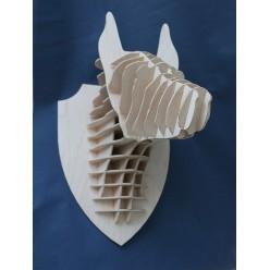Декоративная голова Волка