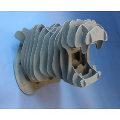 Декоративная голова Бегемота