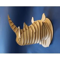 Декоративная голова Носорога