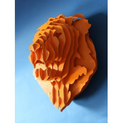 Декоративная голова Тигра