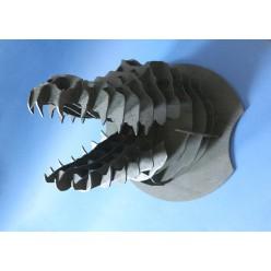 Декоративная голова Крокодила