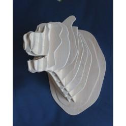 Декоративная голова Медведя